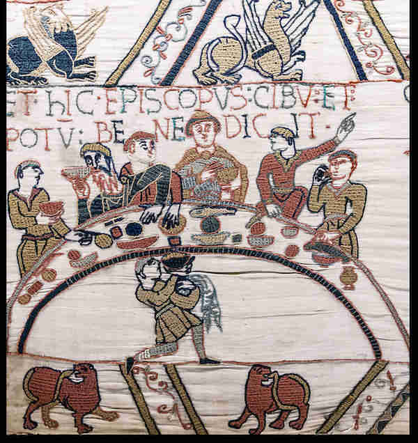 bayeux tapestry banquet odo